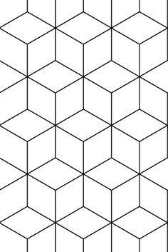 Ok Des Sind Eher Rauten Geometric Patterns Geometrisch Rauten