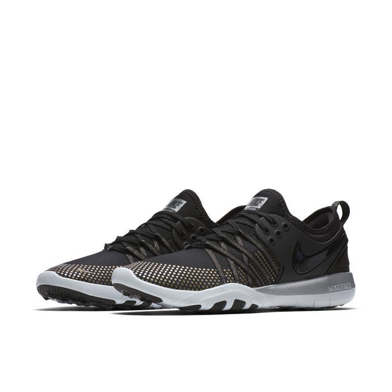 261f7c3b832e1 Nike Free TR 7 Metallic Women s Training Shoe - Black