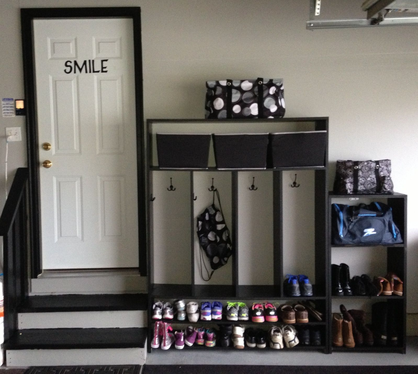 be cabinets best for tips storage mudroom and must garage the within stored plans other diy ever lockers approved units