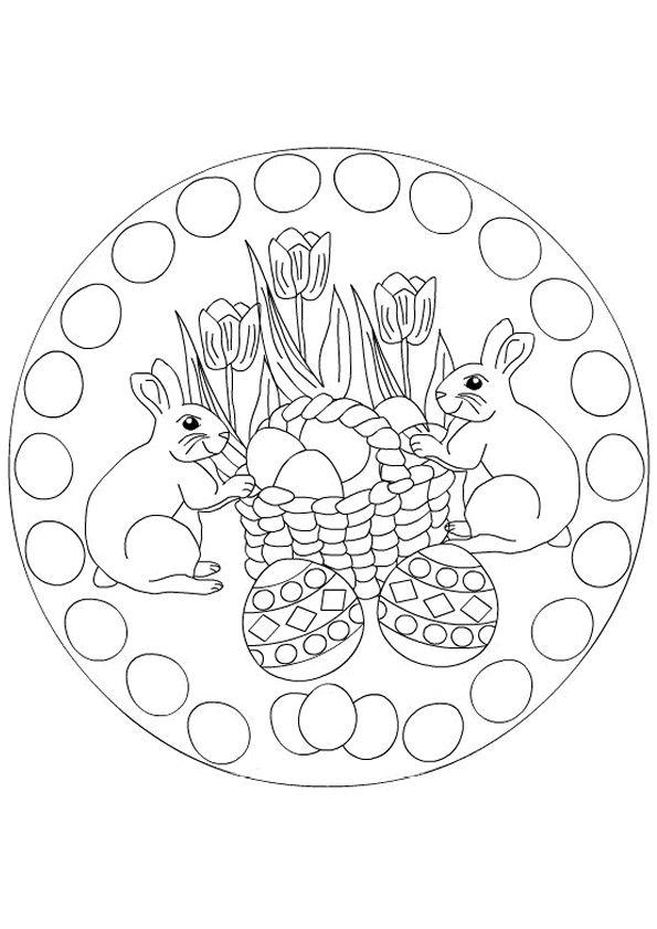 Mandala kleurplaten | A Emb. Mandalas, Dot Rangoli | Pinterest ...