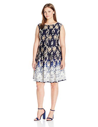 Julian Taylor Womens Plus Size Extended Sleeveless Fit and ...