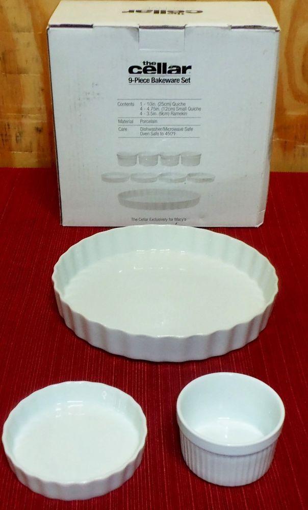9 Piece Bakeware Set By Cellar In Bakeware Ebay Bakeware Set