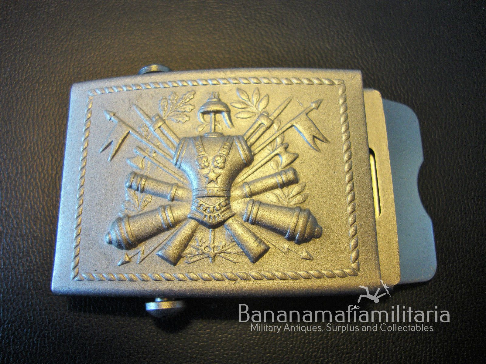 Italian Army - Embossed large ceremonial belt buckle in Collectables, Militaria, 1946-1960 | eBay