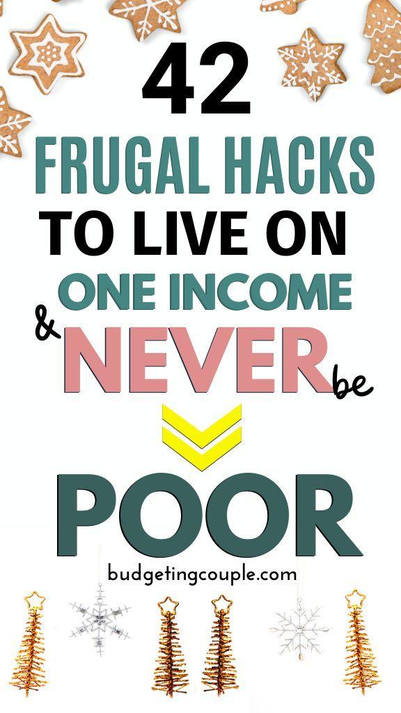 So leben Sie sparsam mit einem Einkommen: 40 Tipps