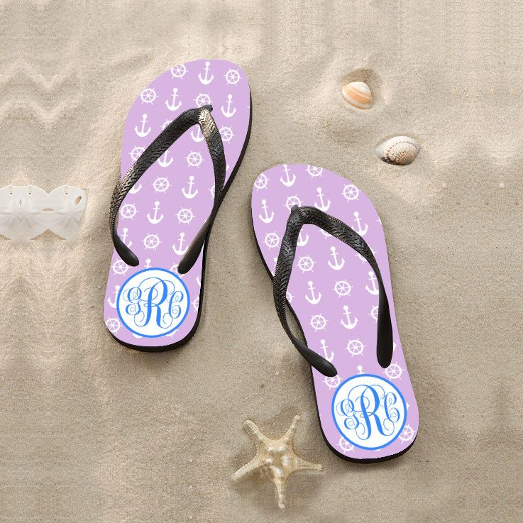 Personalize Flip Flopsbeach Wedding Flip Flops For Guestscheap Bridesmaid Flip Flopscustom Design Sandalspromotional Sandals By Onlyonegift On Etsy
