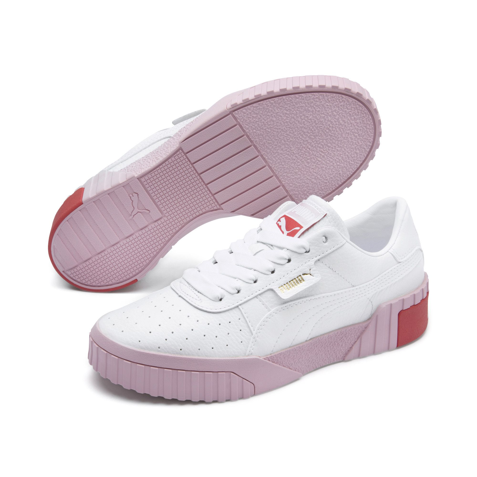 Cali Women's Sneakers | Puma White Puma Black | PUMA Lows