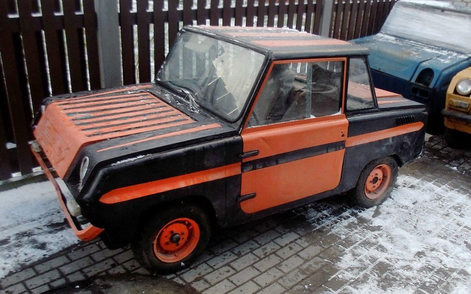 USSR Car: 1980 SMZ S-3D - http://barnfinds.com/ussr-car-1980-smz-s ...