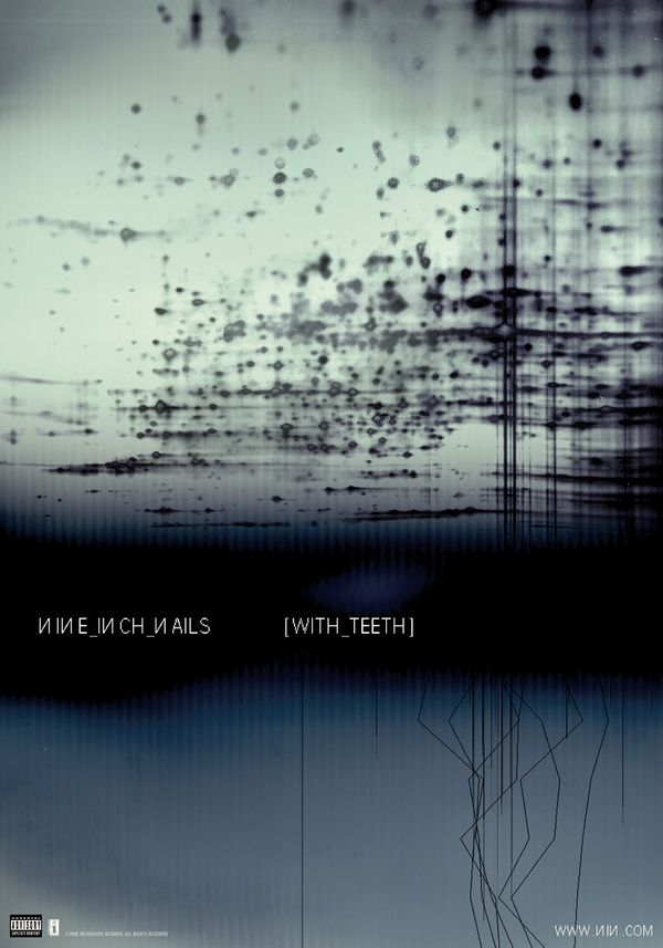 Rob Sheridan Cartel Del Album De De Nine Inch Nails With Teeth