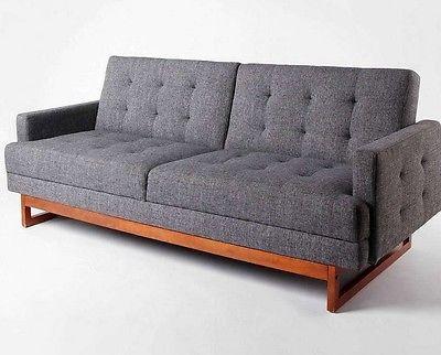 Cozy Mid Century Modern Sleeper Sofa Fancy Mid Century