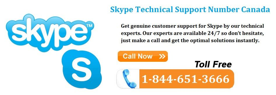 Get genuine customer support for skype by our technical