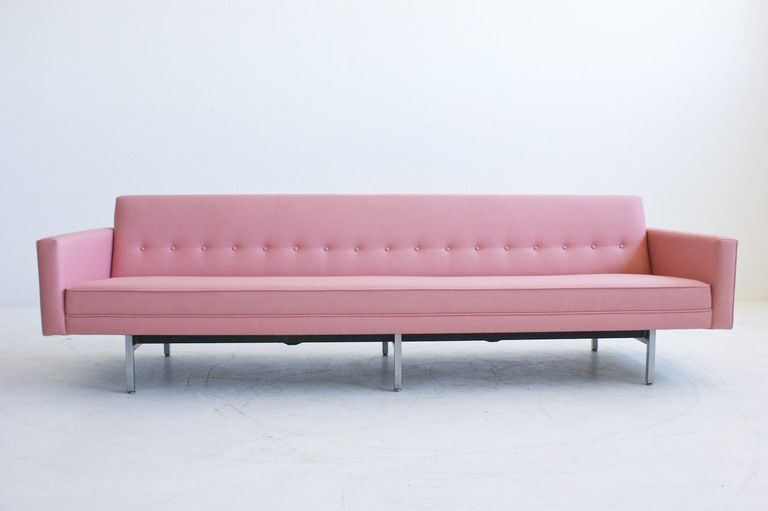 Pink Sofa Perfect With Images The Big Comfy Couch George