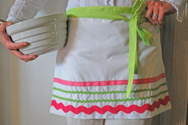 Sweet and easy apron!