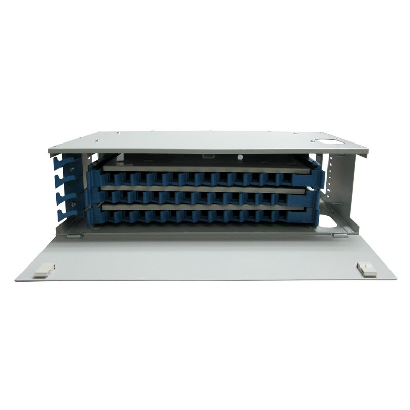 36 Fibers ODF 19 Rack Mount Distribution BoxFiberStore Can Be Installed On Standard Racks And Currently Being Widely Used In