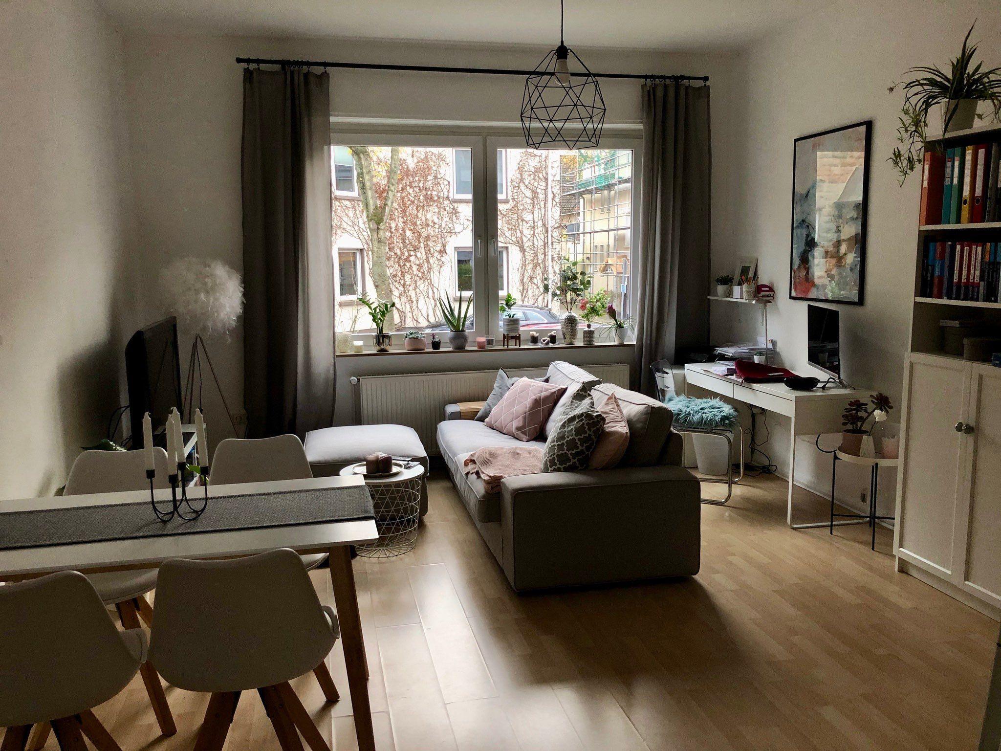 Wohnzimmer Und Esszimmer In Einem Raum Ideen in 7  Wohnung