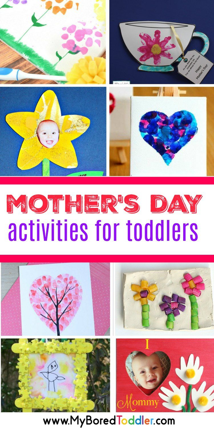Mother S Day Activities For Toddlers To Make Must Do Crafts And