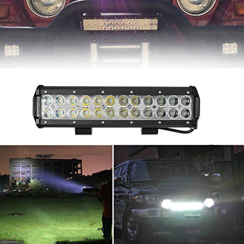 Audew Professional Spot Beam Led Lights Bar 12 Inch 72w 7200lm Extremly Bright Led Bar Led Driving Light Fog Lights I Led Driving Lights Bar Led Led Light Bars