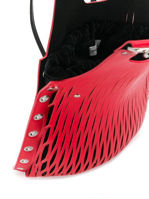 eyelet shoulder bag - Red Sonia Rykiel RcylVBhsH