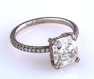 Neil Lane 14 Carat White Gold Wedding Ring Profile Photo Me Want