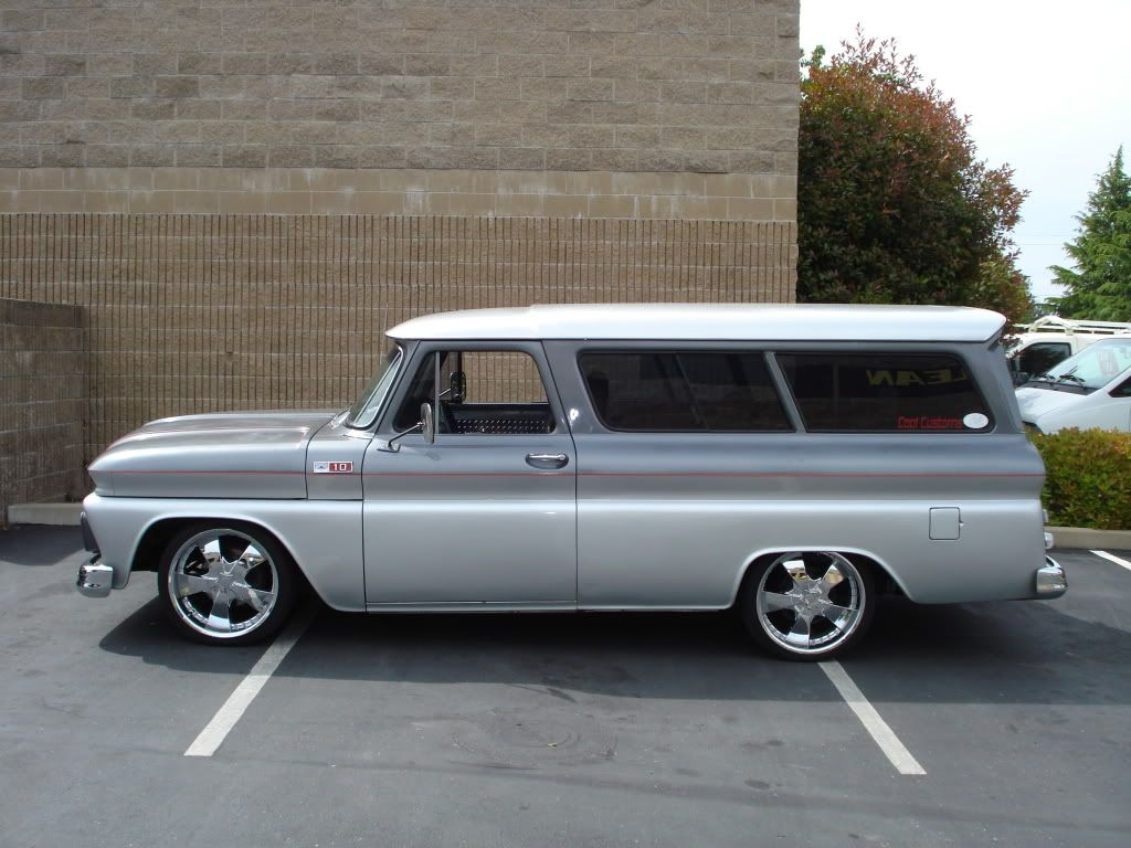 Custom 1965 Suburban Chevy Trucks