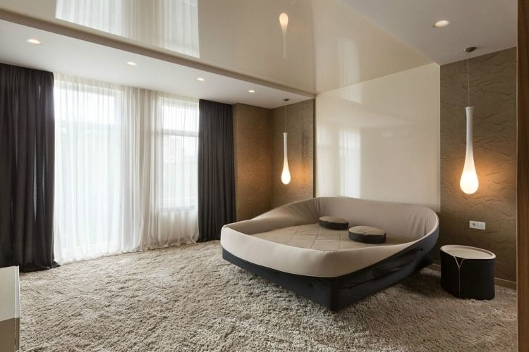 Déco chambre adulte: 57 idées fascinantes à emprunter!   Grand lit ...