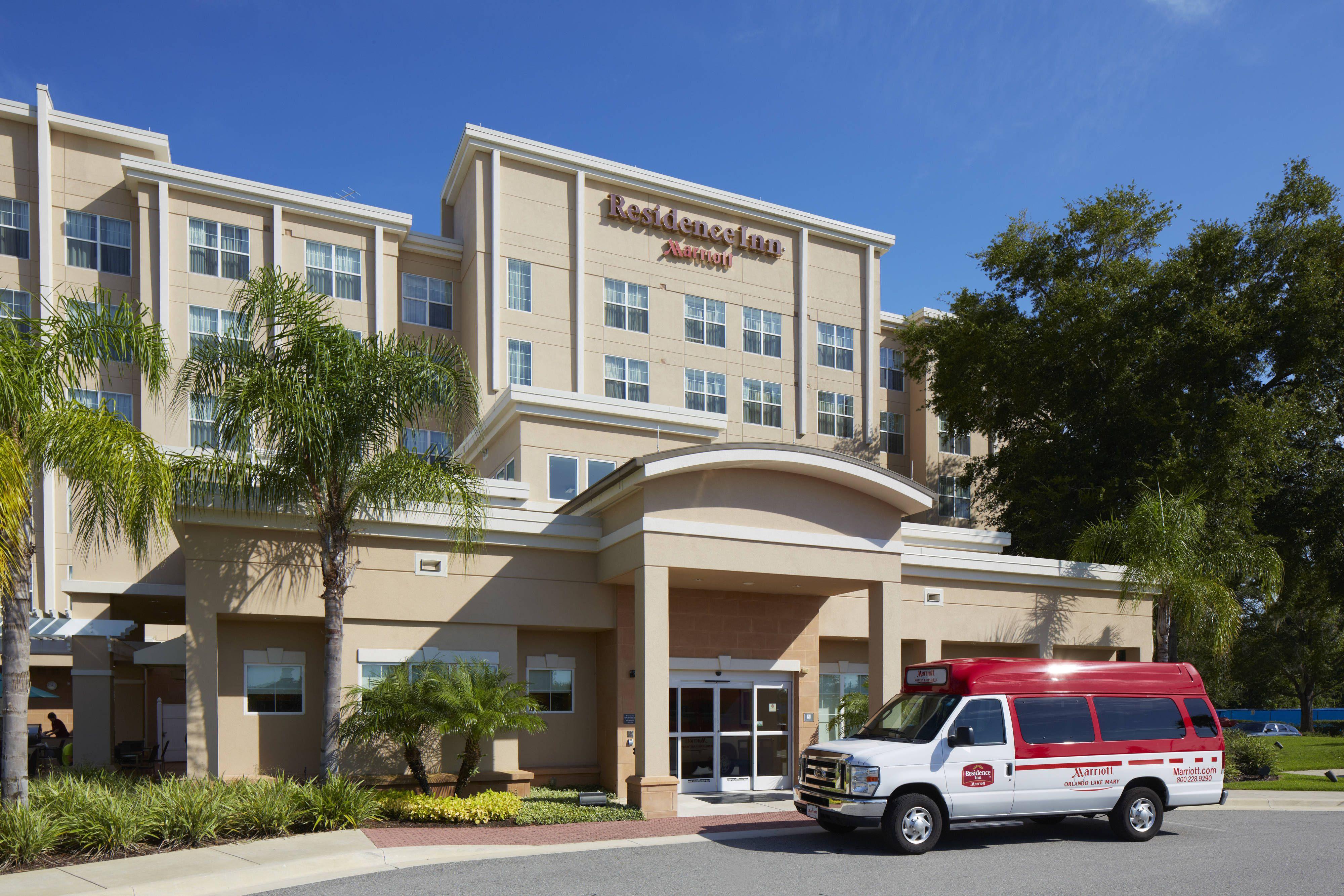 Residence Inn Orlando Lake Mary Courtesy Shuttle Enjoy Comfort