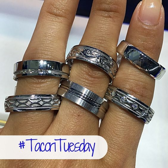 Average Men's Wedding Band Costs, Tacori 2016 Trends (With