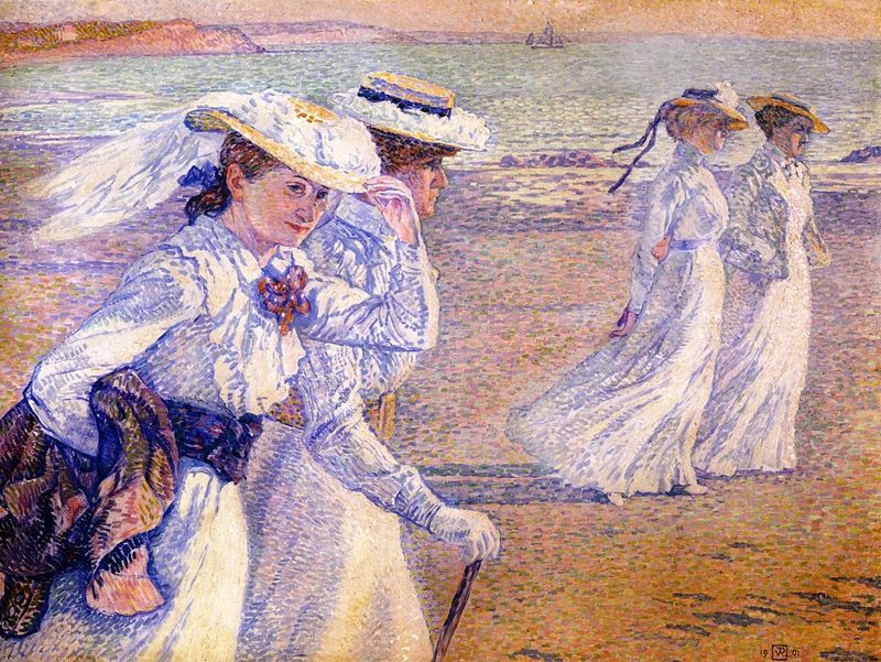 Théo Van Rysselberghe 1862-1926   Belgian Pointillist painter   Tutt'Art@   Pittura * Scultura * Poesia * Musica  