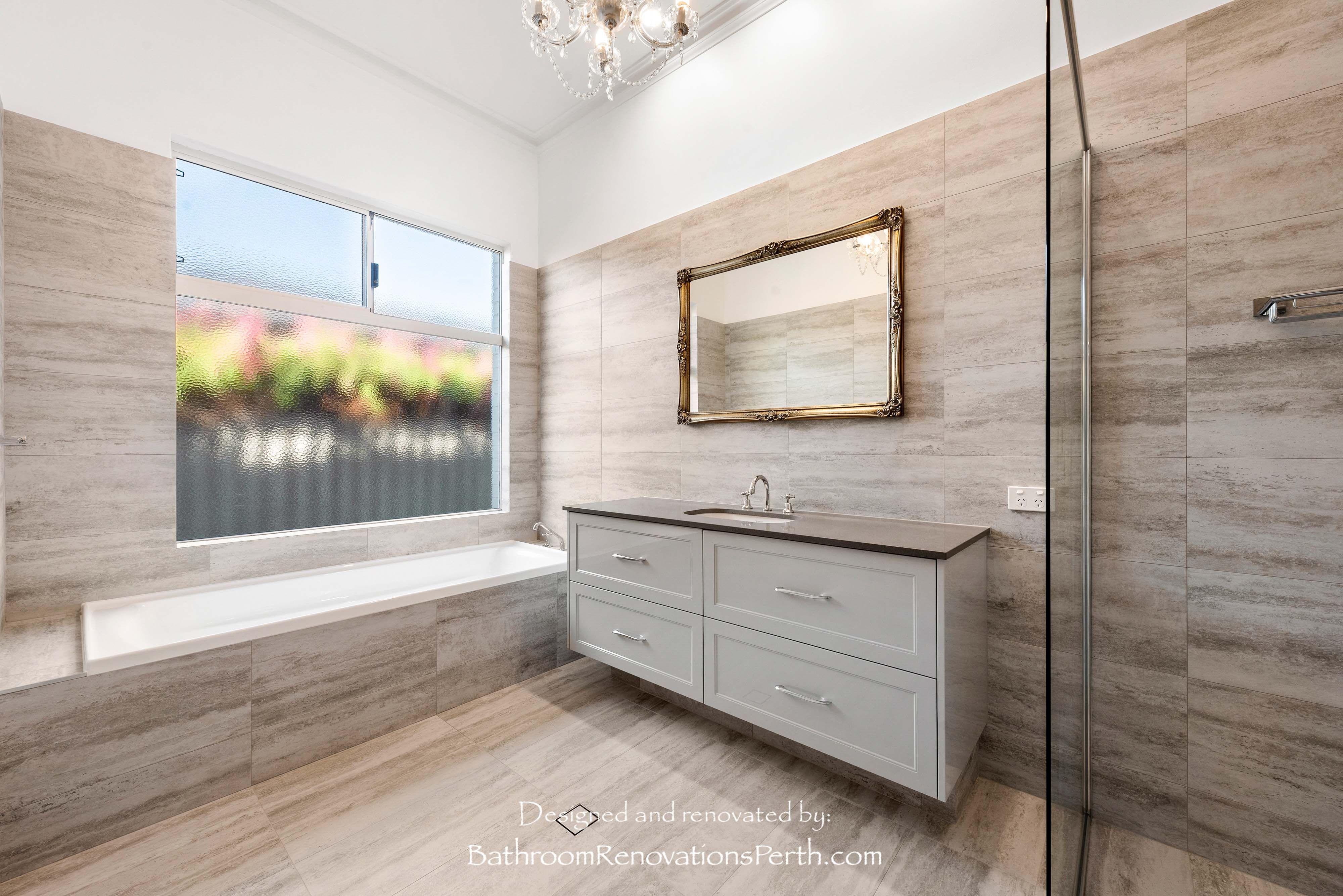 Antique Inspired Bathroom