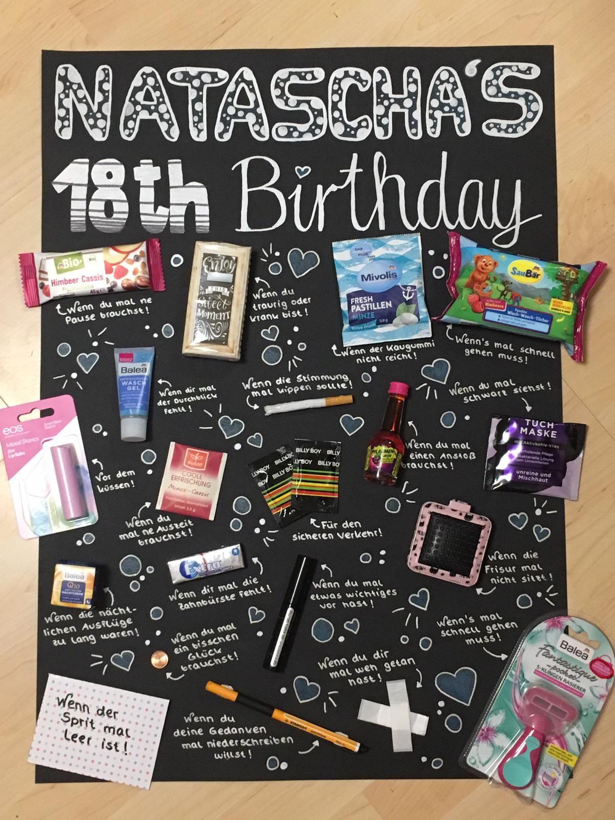 Geschenk zum 18. Geburtstag | Geschenke zum 18, Geburtstag