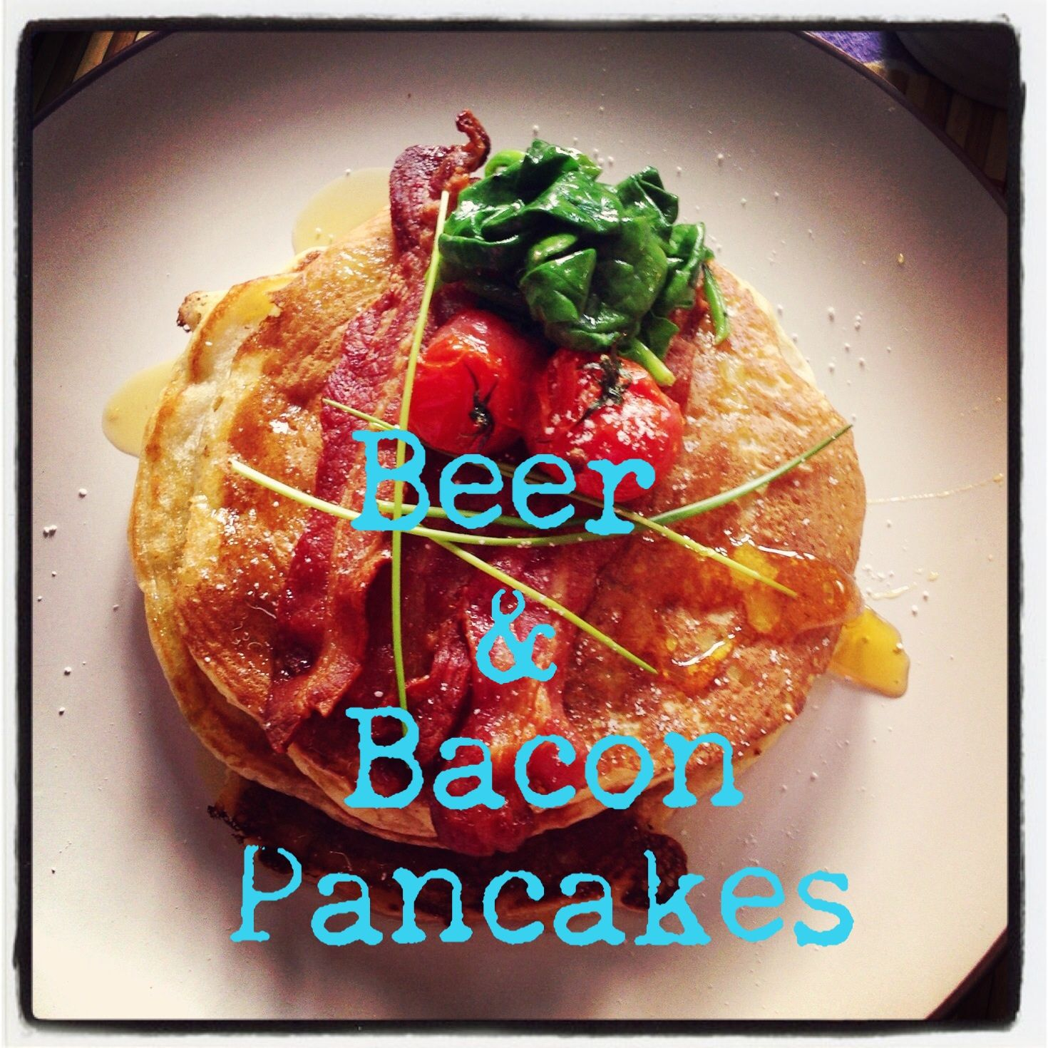 Beer and Bacon pancakes!!