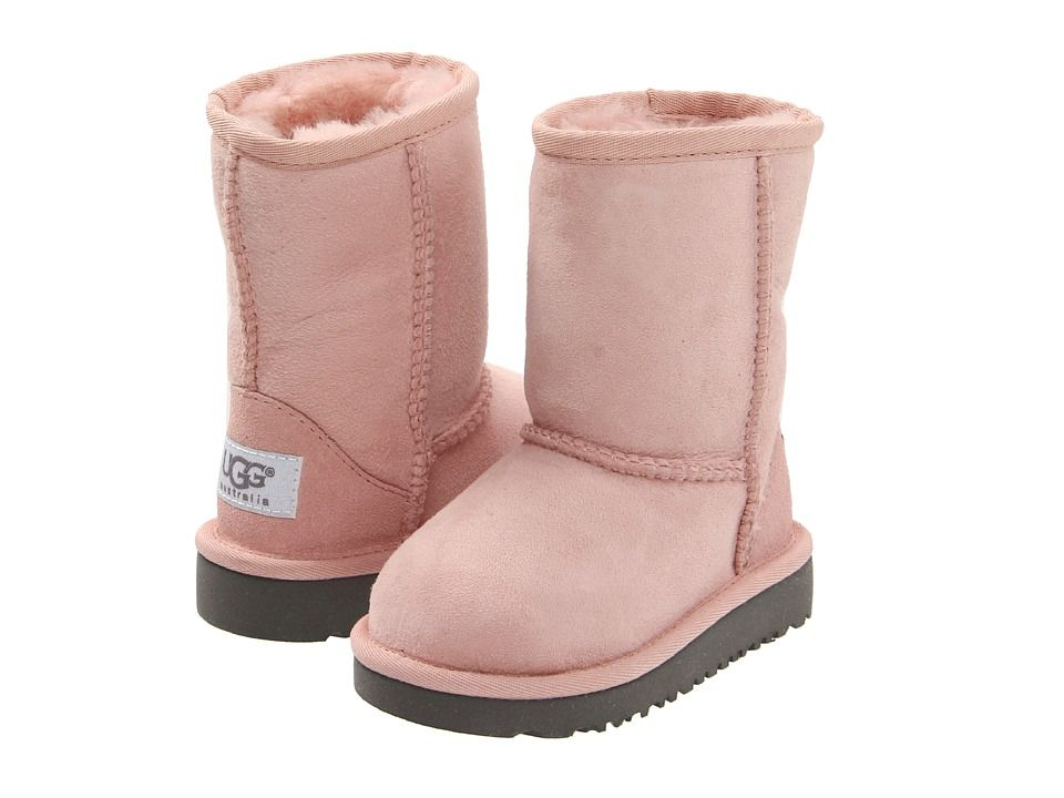 UGG Kids Classic (Toddler/Little Kid) Girls Shoes Baby Pink