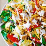 Chicken taco salad - Julias Album