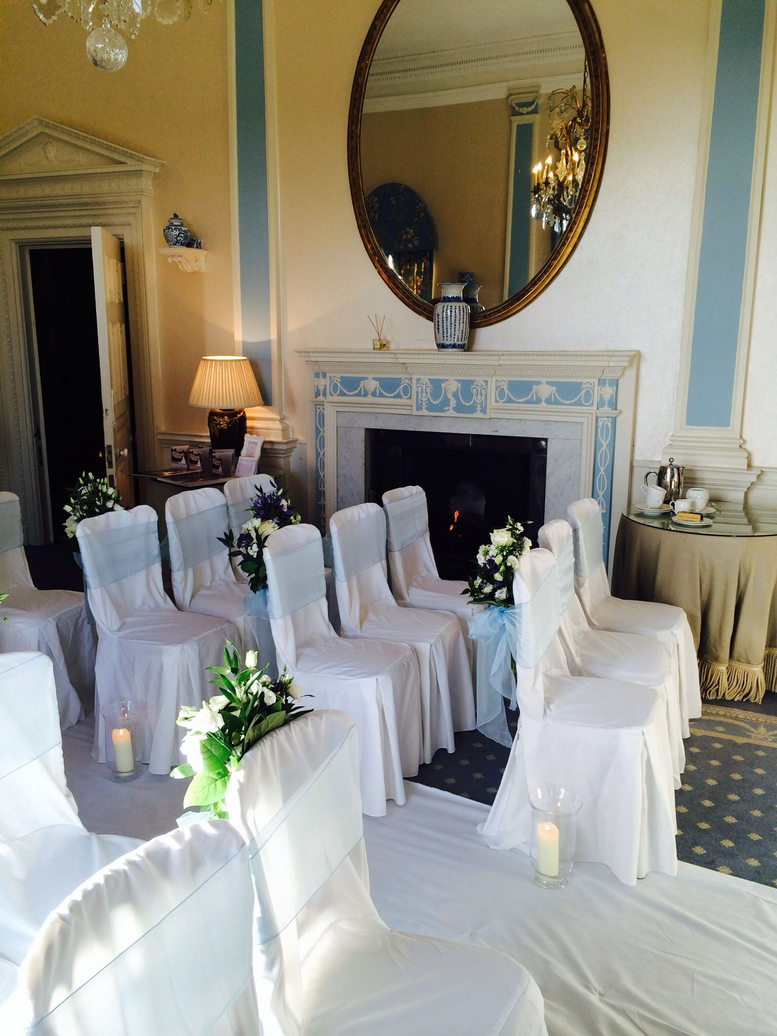 The ceremony room - the boudoir