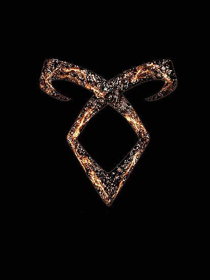 Mortal Instruments Angelic Power Rune By Ellen Kapelle Redbubble