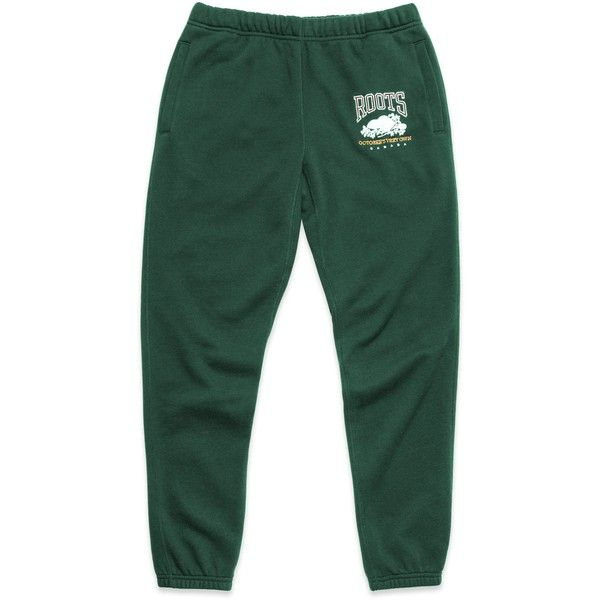 ovo x roots sweatpant park green 98 liked on polyvore