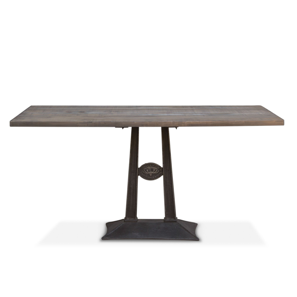 Old Mill 60 Dining Table Dining Table Glass Console Table Reclaimed Wood Console Table