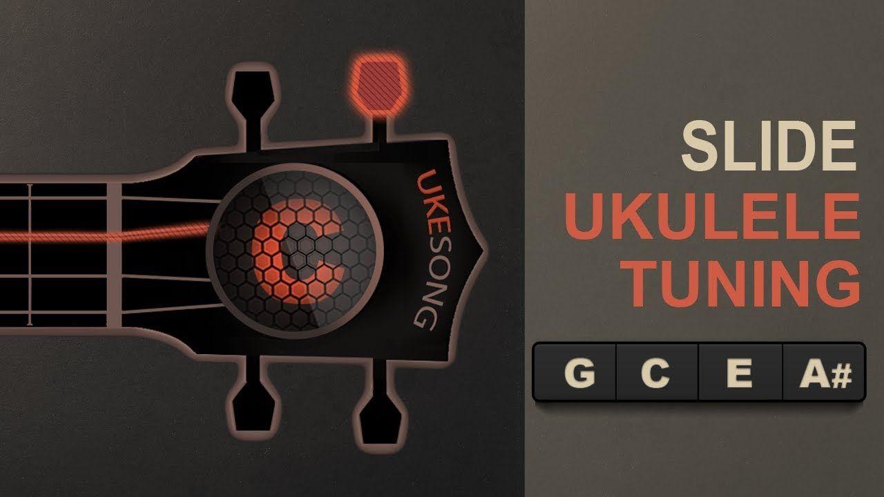 Slide Ukulele Tuning Online ukulele Tuner Ukulele