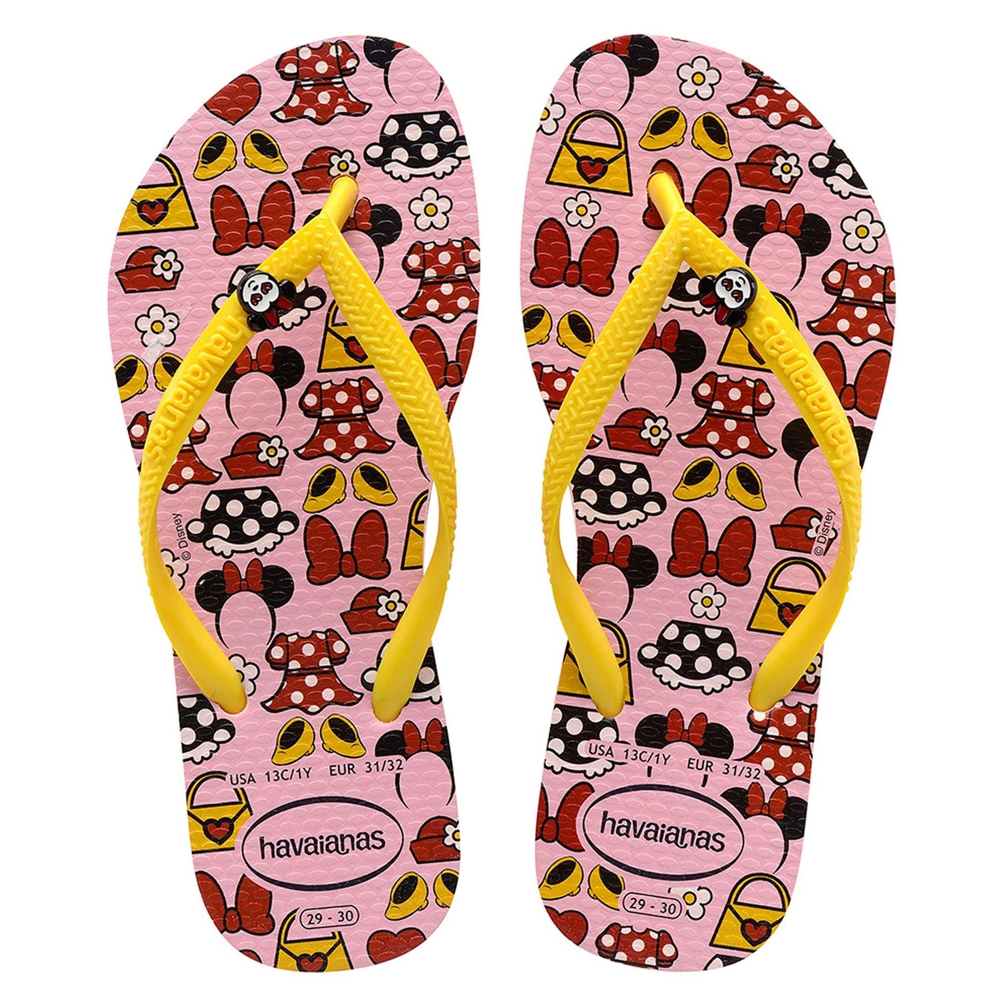 Havaianas Kids Disney Cool CF Girls Sandals Slipper 4130287 Pink