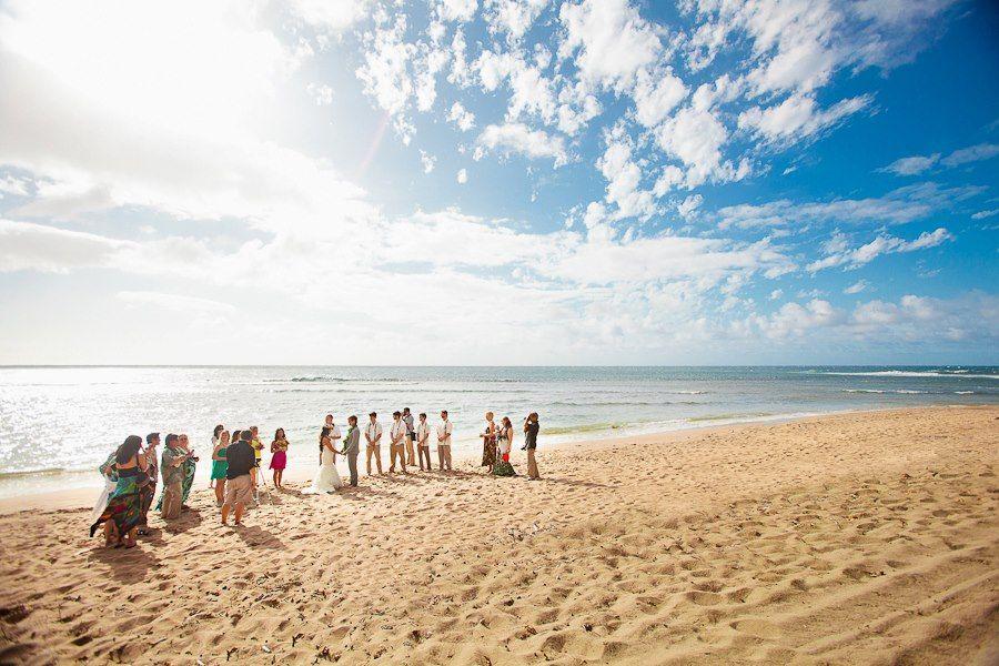 Our Wedding On Ke E Beach On Kauai Photography Sealight