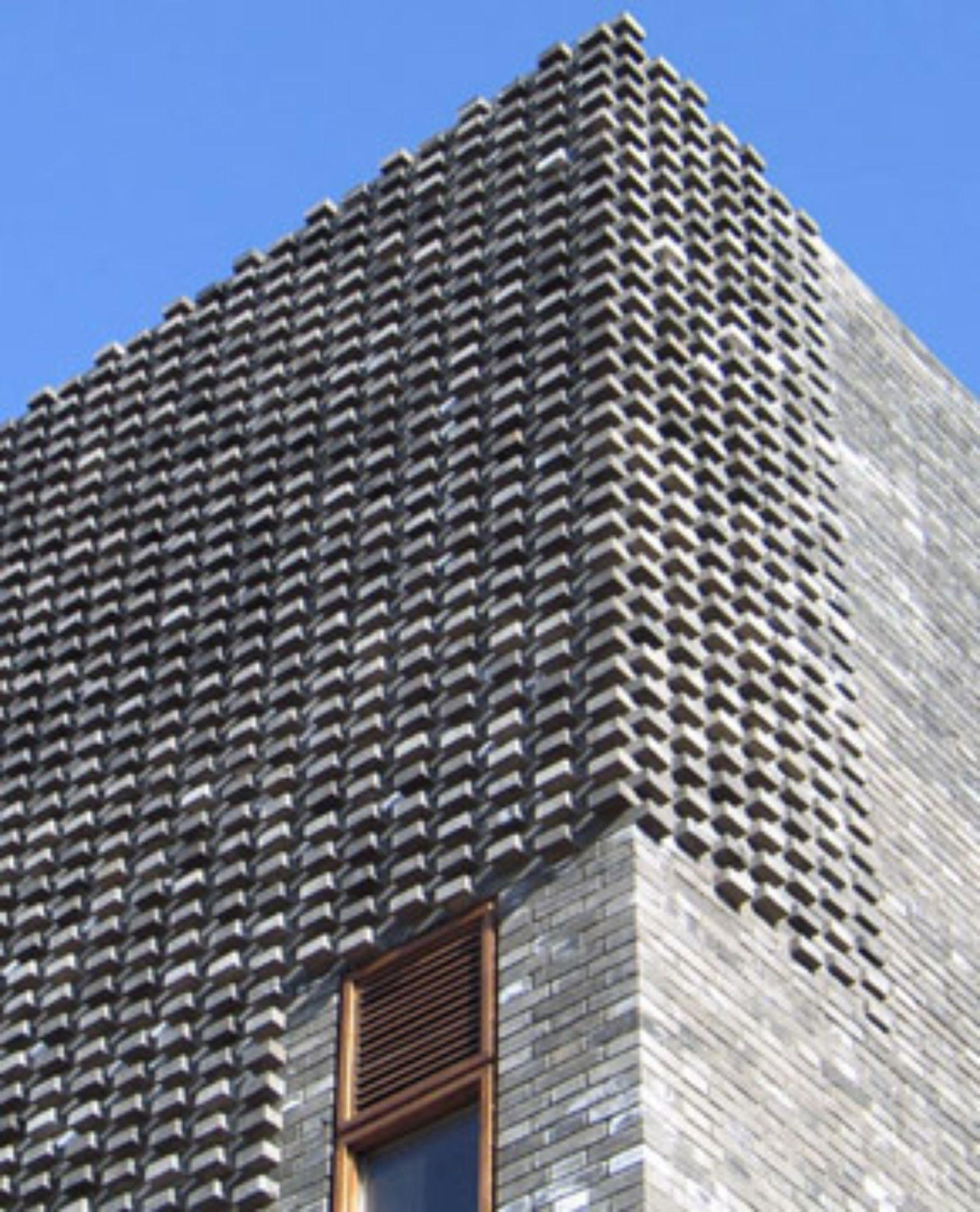 Facade Tetris The Luminous And Textured Potential Of Brick