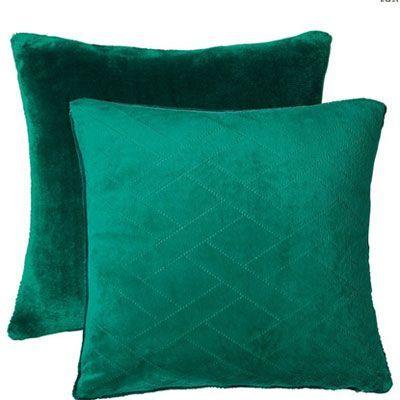 Cojines verde esmeralda | VERDE | Pinterest | Cojines verdes