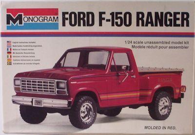 Monogram Ford F  Ranger Box Art