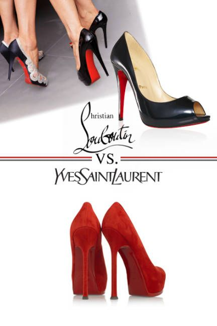 Red bottom shoes, Christian louboutin