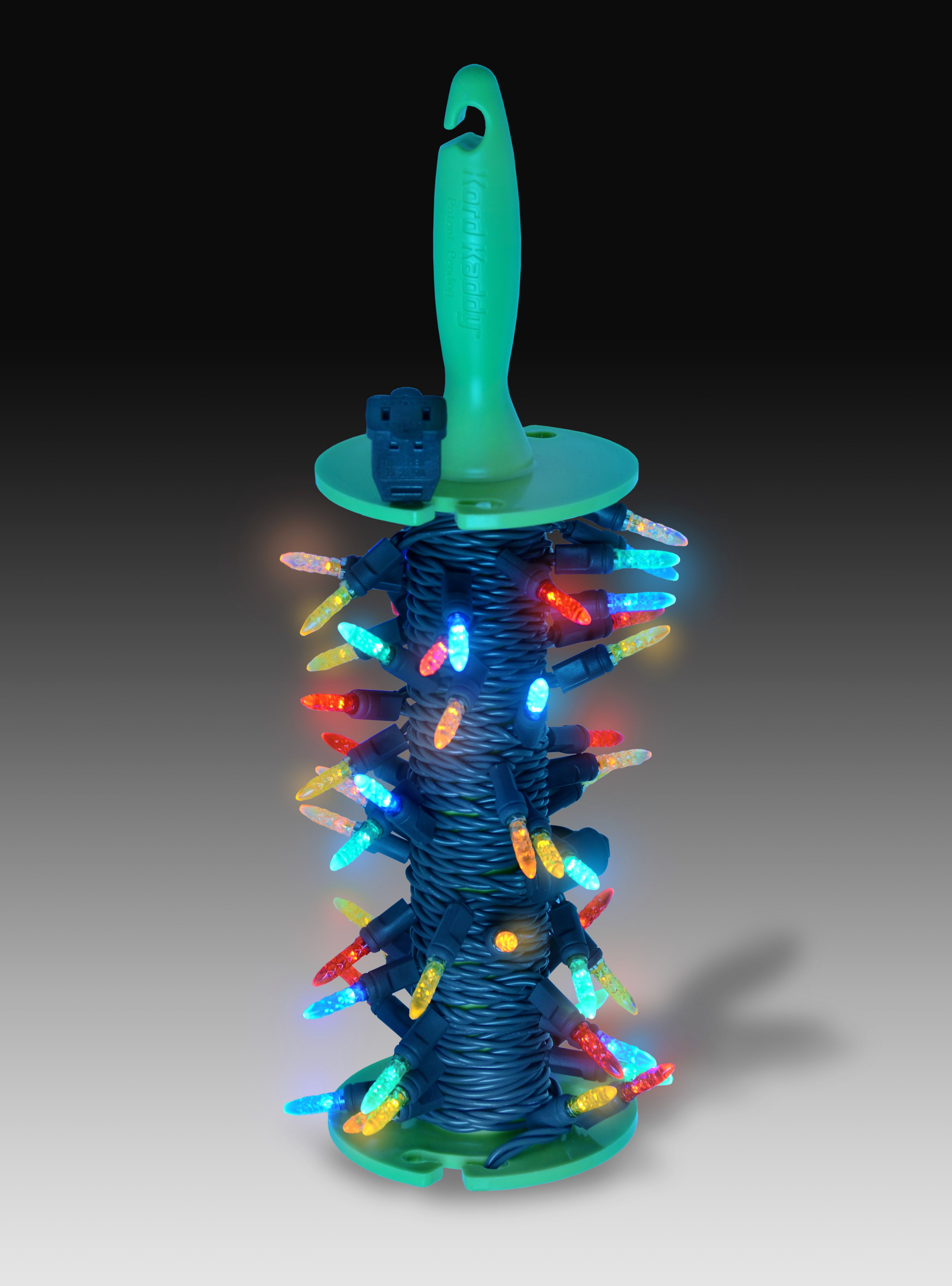 Don T Want To Deal With The Hassle Of Tangled Christmas Lights Save Yourself The Trouble Kord Christmas Light Storage Christmas Storage Holiday Organization