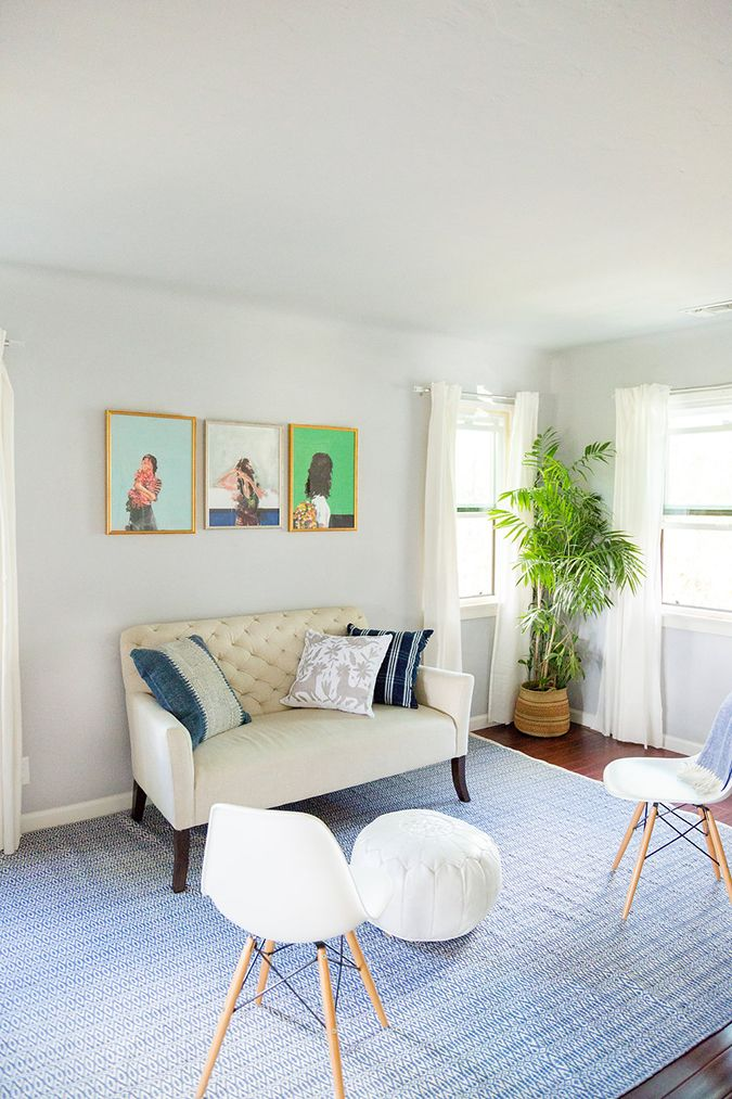 Home Makeover Our Editor S Living Room Redo Living Room Redo