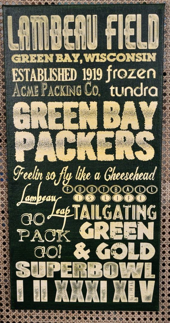 GO PACK GO, Green Bay Packers football license plate sign | Verde ...