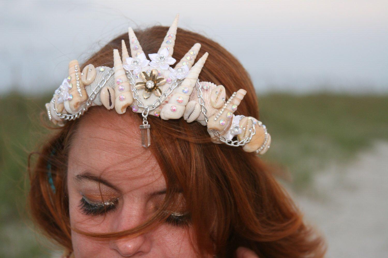 New mermaid crown!  ✨ The Nerida Crown ✨