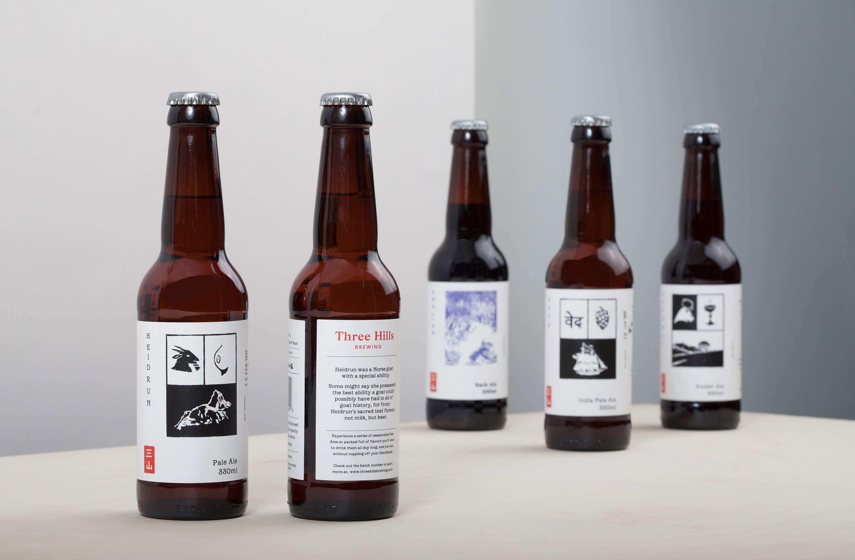 Three Hills, a newly founded brewery based in Northamptonshire ...