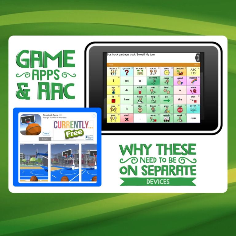Game Apps & AAC: Why These Need To Be On Separate Devices