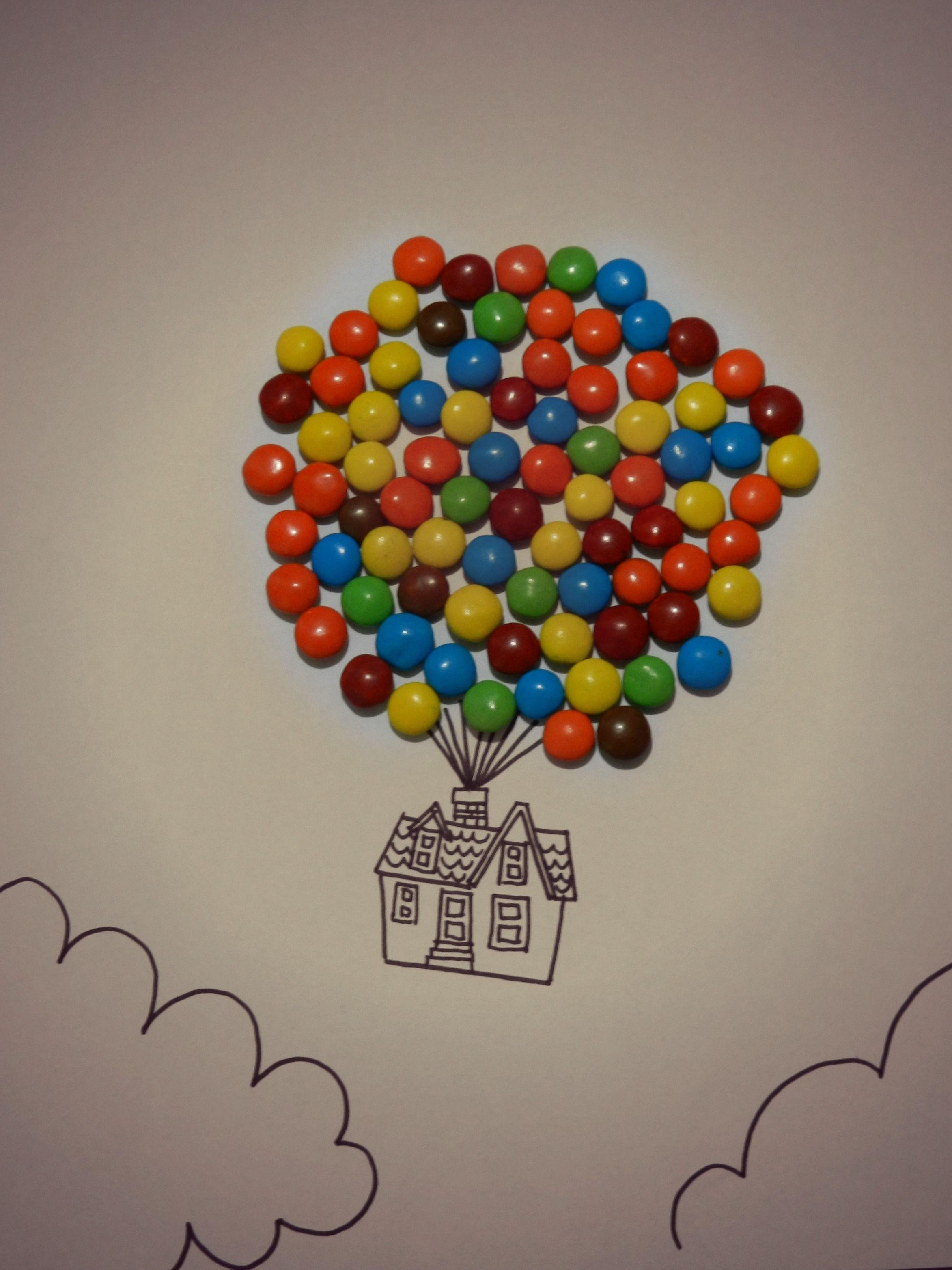 Fotografia basada en la pelicula de pixar up una aventura for Colores para apartamentos